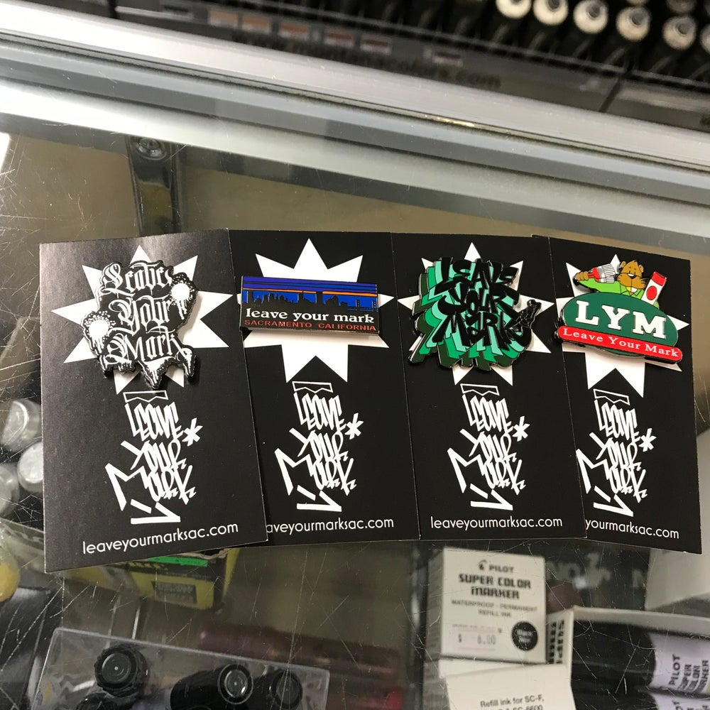 New Leave Your Mark Enamel Pins