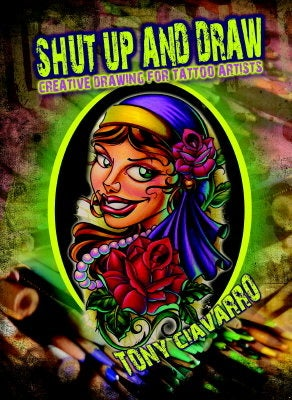 The Little Store >> Shut Up and Draw DVD | Stinky Monkey Brand the art of Tony Ciavarro