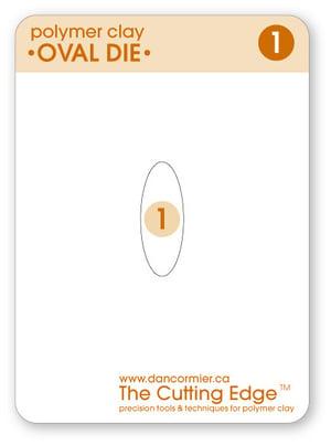 Image of Oval Die Set