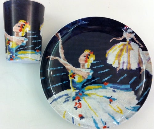 Image of ballerina cup
