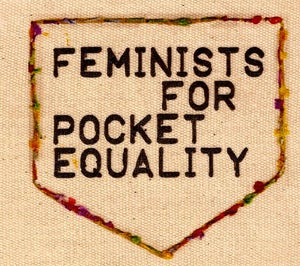 Image of Feminists For Pocket Equality patch
