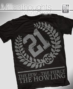 Image of The Howling shirt - black/grey