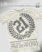 Image of The Howling shirt - natural/grey