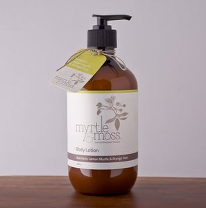 Image of Body Lotion - Mandarin, Lemon Myrtle & Orange Peel - 500ml