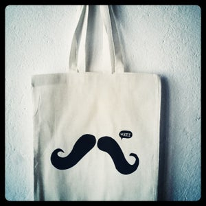 Image of The Portuguese Moustache canvas bag