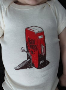 Image of Baby/Toddler One-Piece with The Wailin' Jennys Suitcase Logo