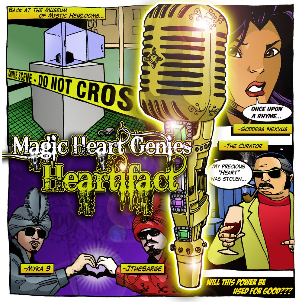 "Image of Magic Heart Genies ""Heartifact"" - CD"