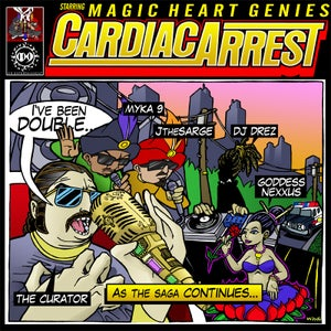 "Image of Magic Heart Genies ""Cardiac Arrest""- CD"