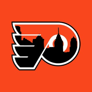 Image of Flyers Logo with Skyline
