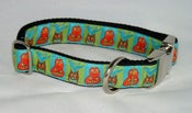Image of Harvest Squares Dog Collar on UncommonPaws.com