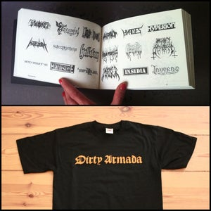 Image of Dirty Armada Pack (book + t-shirt)