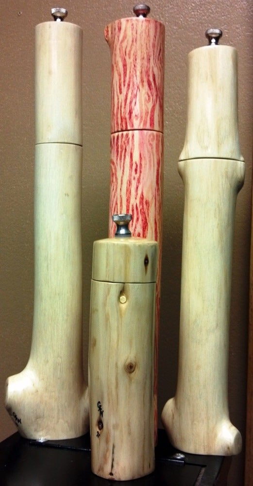 Image of Hand Crafted Pepper Mill