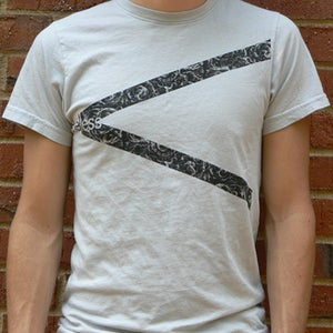Image of Men's Graphic Tee (Silver)