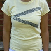 Image of Women's Graphic Tee (Light Yellow)