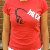 Image of Women's Album Tee (Red)