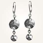 Image of Tide Pool Earrings, Sterling Silver