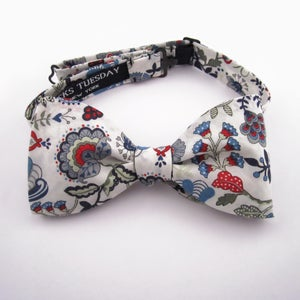 Image of Liberty Print - Red and Blue Floral