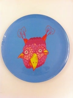 Image of sunday morning designs/dylan martorell artist plate bird