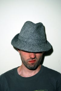 Image of Black & White Fedora