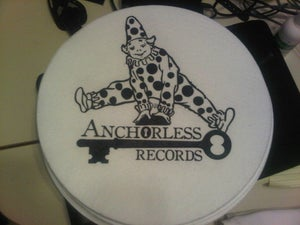 Image of NEW!!! Anchorless Records SlipMat