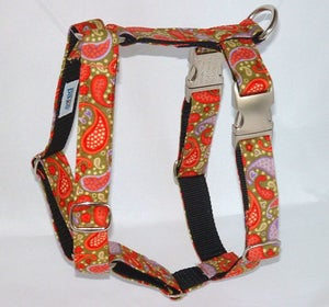 Image of Playful Paisley - Dog Harness in the category  on Uncommon Paws.
