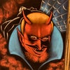 Mexican Velvet Devil Painting