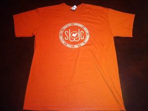 Image of Burnt Orange and White Shirt