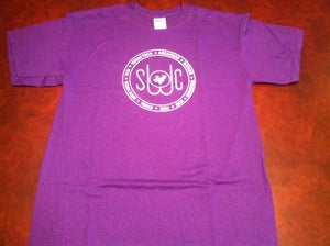 Image of Purple and White Shirt