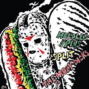 "Image of NEEDLES//PINS+MOBY DICKS SPLIT 7"" (SB-03)"
