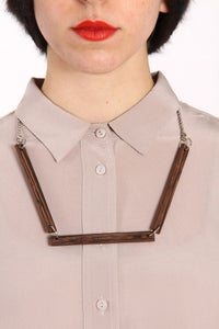 Image of (+90) wood-wood Necklace