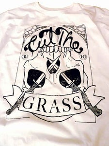 Image of Casual Ghosts - 'Cut The Grass' White