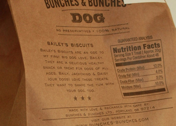 Image of Bailey's Dog Biscuits