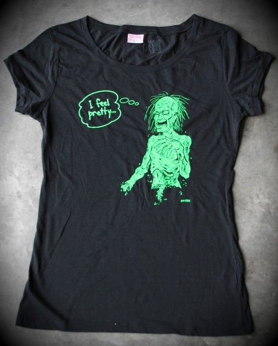 Image of I Feel Pretty Ladies T-Shirt.