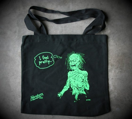 Image of I Feel Pretty Tote bag.