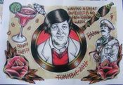 Image of Stephen Fry - A3 flash print