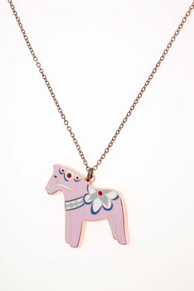 Image of Dala Horse Necklace