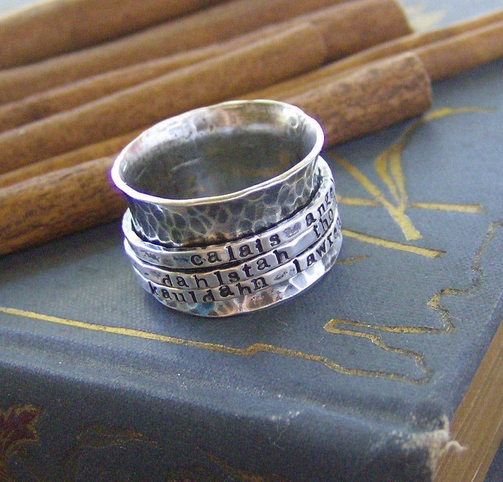 Image of tripple spinner ring