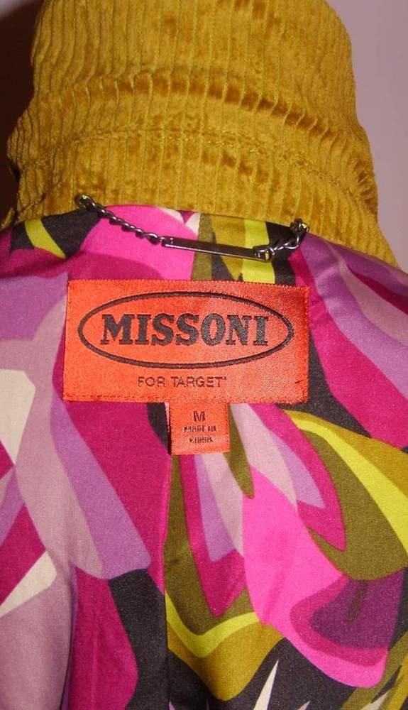 Image of Rare Missoni Green Trench Coat