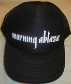 Image of Morning Ablaze logo trucker hat
