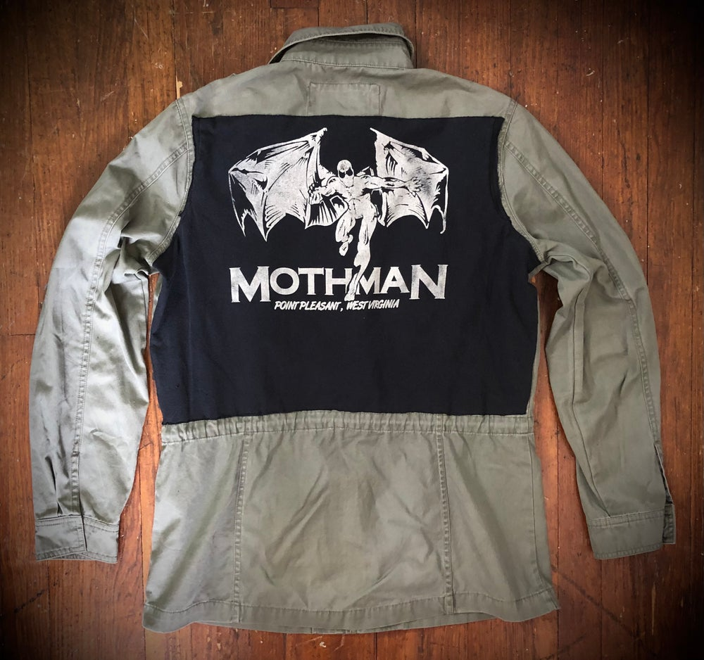 MOTHMAN UPcycled spike jacket (For M.)