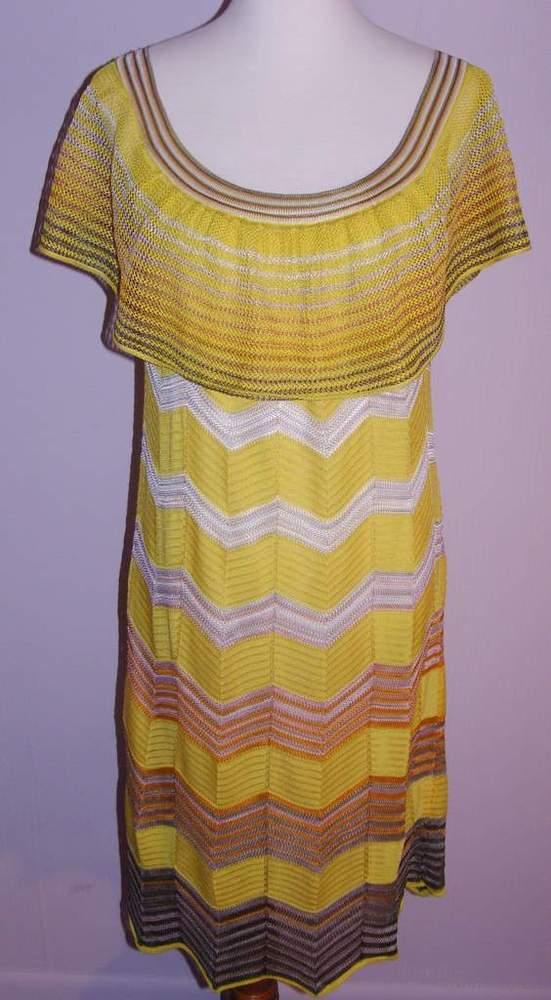 Image of Missoni Yellow Sunshine Dress