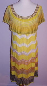 Image of Missoni Yellow Sunshine Dress