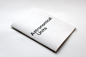 Image of Astronomical Units Zine