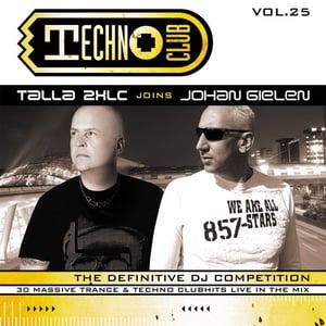 Image of Technoclub vol. 25 Talla 2XLC joins Johan Gielen