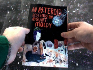 Image of An Asteroid Descends on Mount Moldy; Book