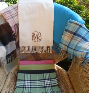Image of Cashmere feel scarves