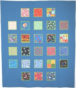 Image of ABC Squares Pattern