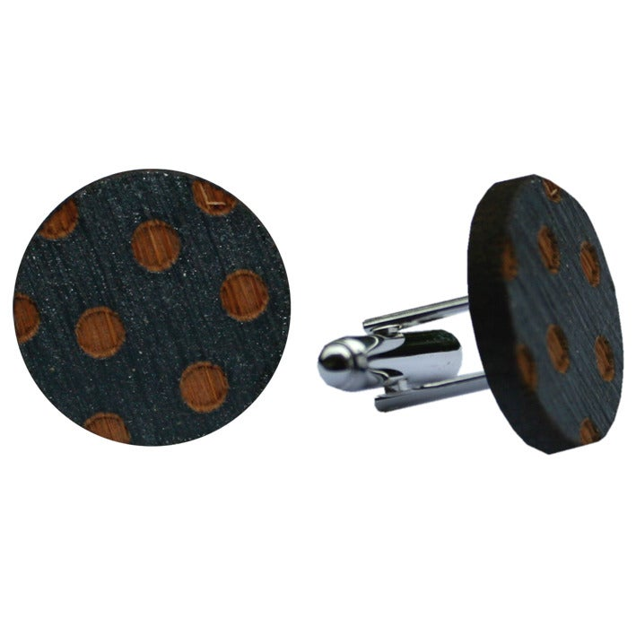 Image of Spot cufflinks (various colours )