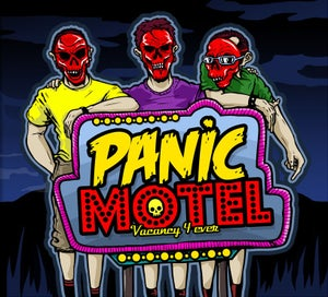 Image of Panic Motel - Vacancy 4 Ever - 1st EP - CD