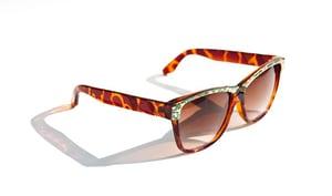 Image of Oculos Vintage 'Fleurs'